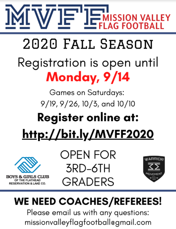 Registration for 3-6 grades is open.